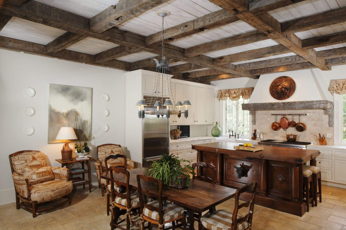 кухня в итальянском стиле самобытный дизайн