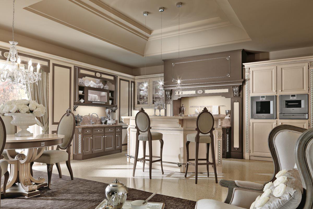 кухня в итальянском стиле эффектный интерьер
