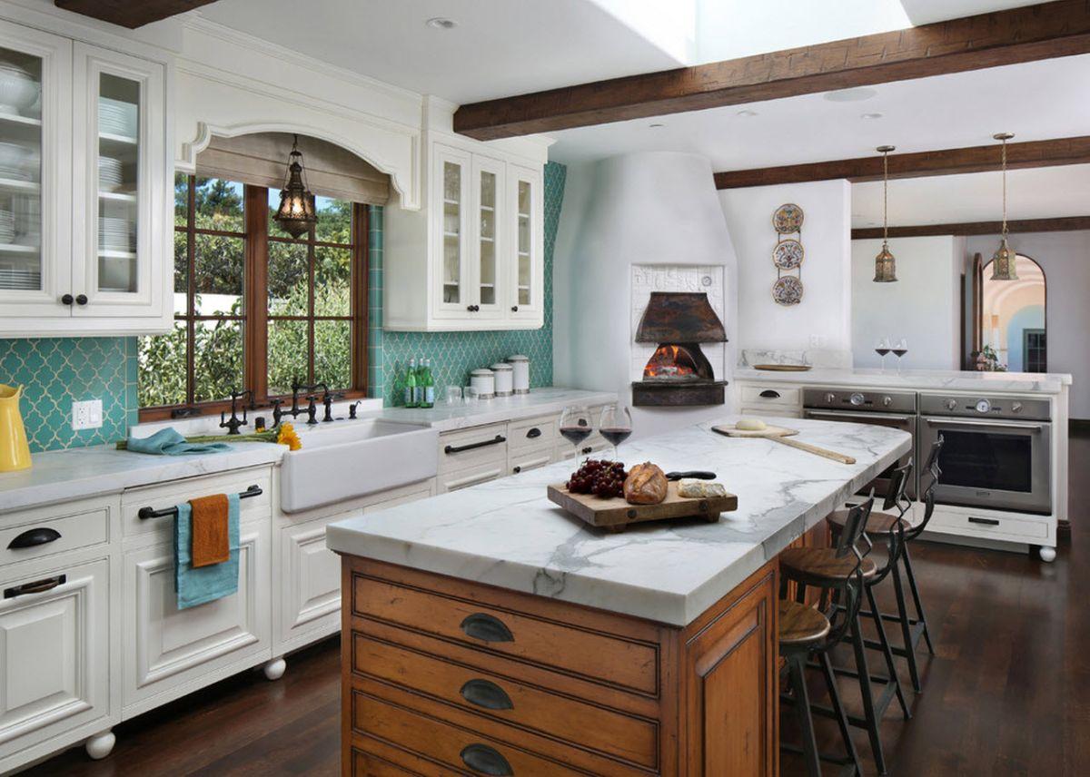 кухня в итальянском стиле фото интерьера
