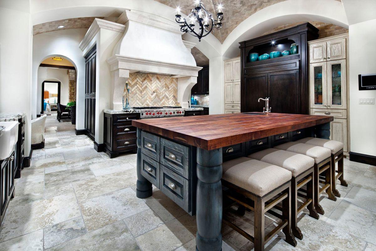 кухня в итальянском стиле фотография