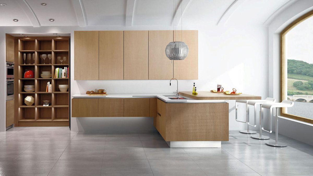 кухня в итальянском стиле минималистический дизайн