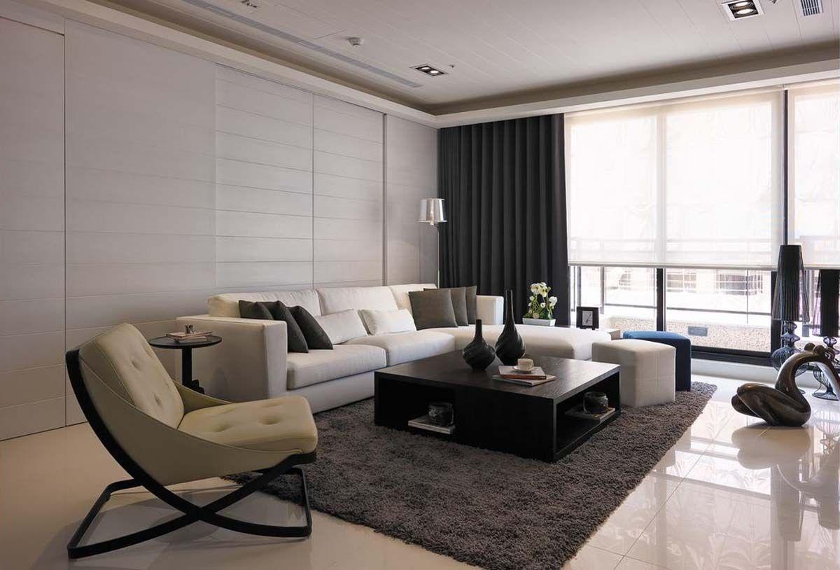 лаконичный интерьер в стиле модерн в светлой цветовой гамме