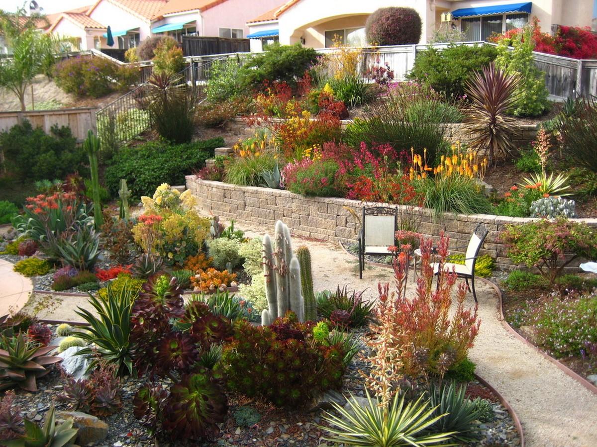 ландшафтный дизайн садового участка 10 соток фото пример