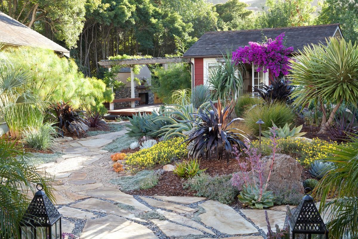 ландшафтный дизайн садового участка 10 соток фото