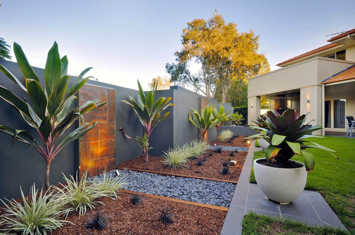 ландшафтный дизайн садового участка 10 соток хай тек