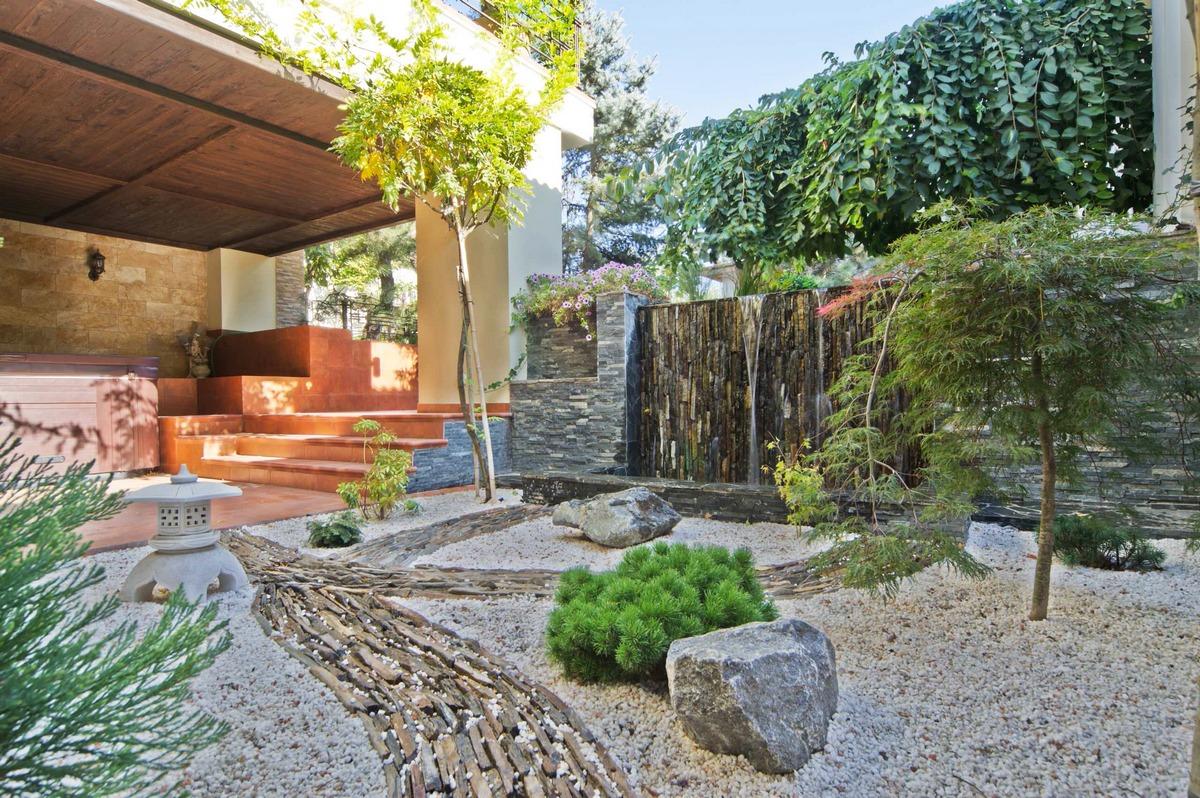 ландшафтный дизайн садового участка 10 соток на фото
