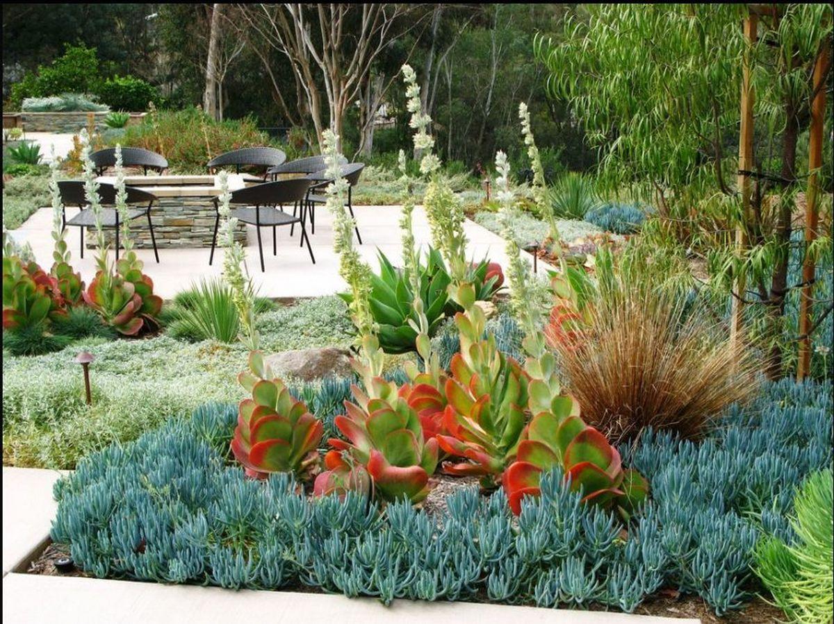 ландшафтный дизайн садового участка 6 соток клумба