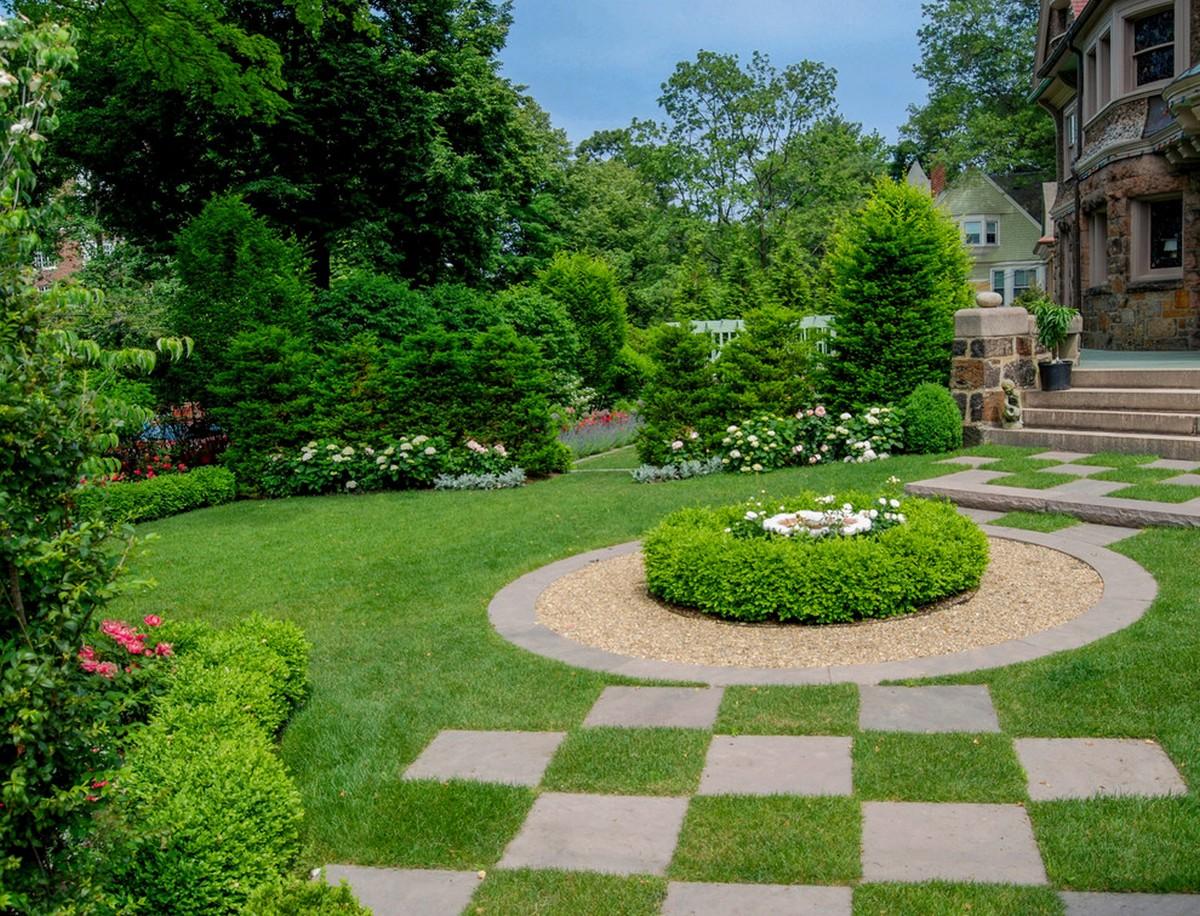 ландшафтный дизайн садового участка фотогалерея пример