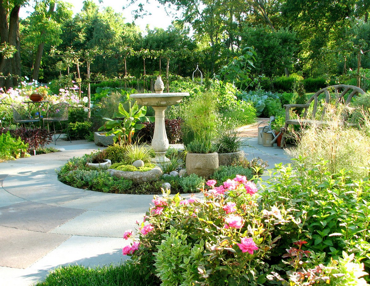 ландшафтный дизайн садового участка онлайн