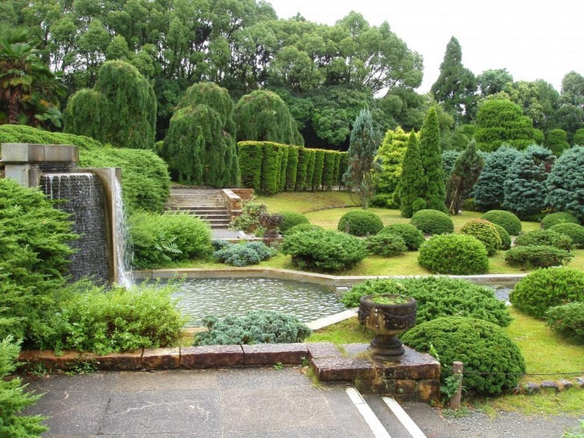 ландшафтный дизайн садового участка прекрасный проект