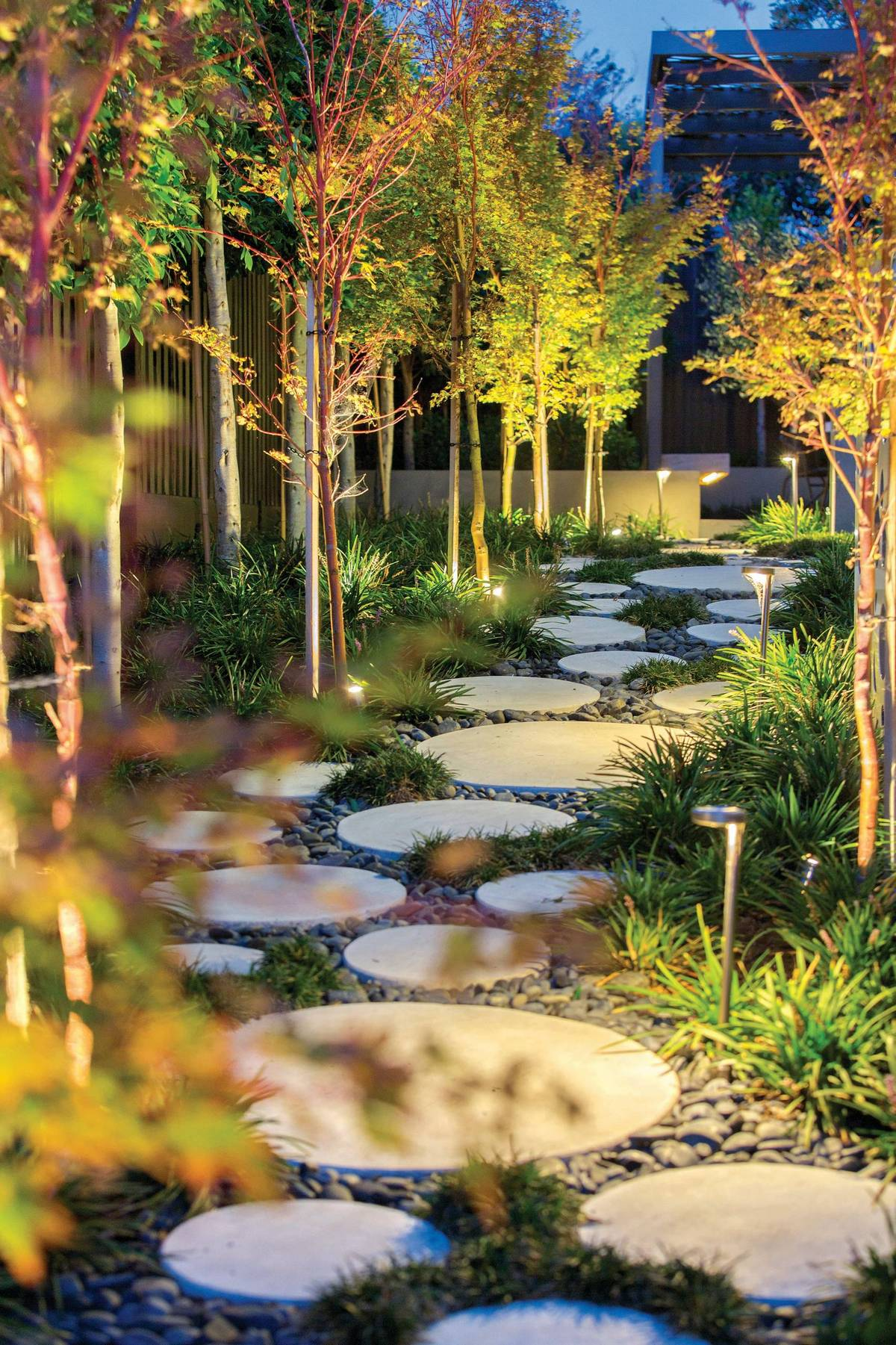 ландшафтный дизайн садового участка проект оформление искусственными камнями