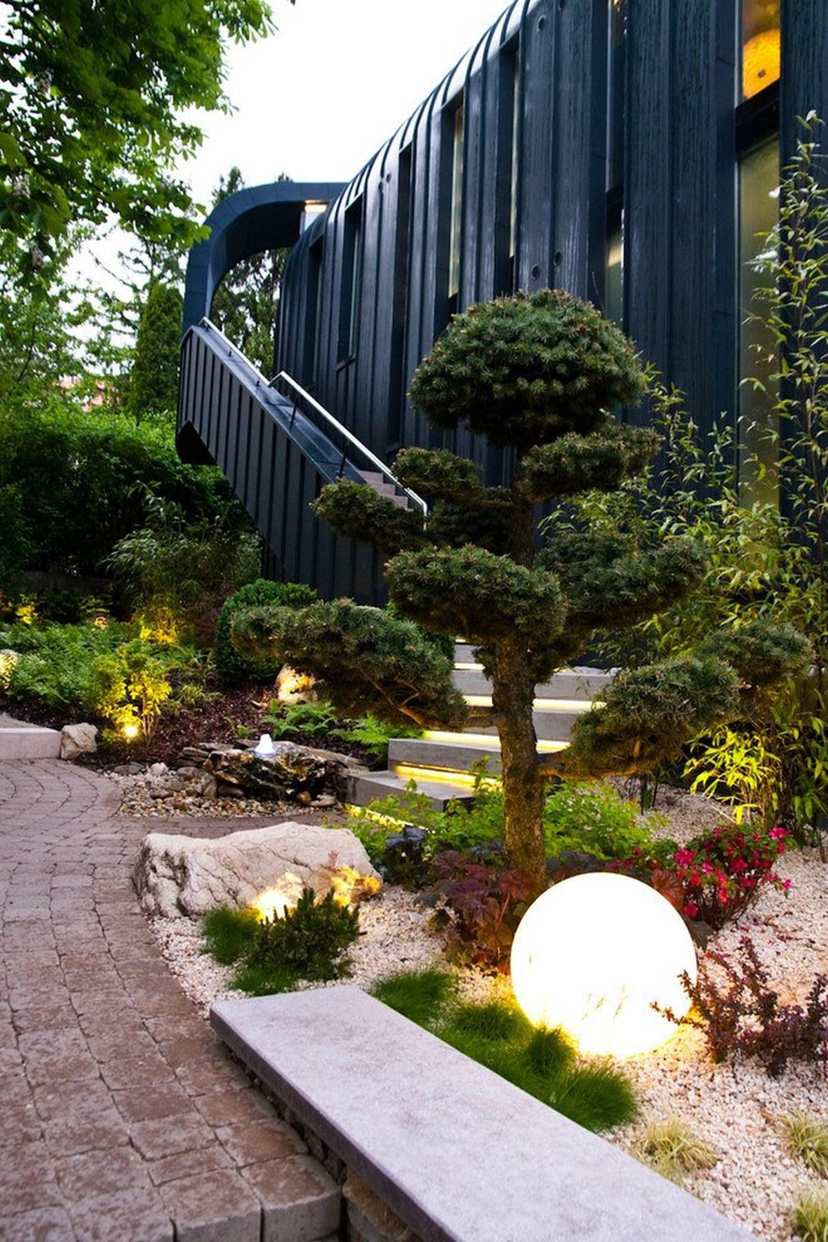 ландшафтный дизайн садового участка своими руками на фото