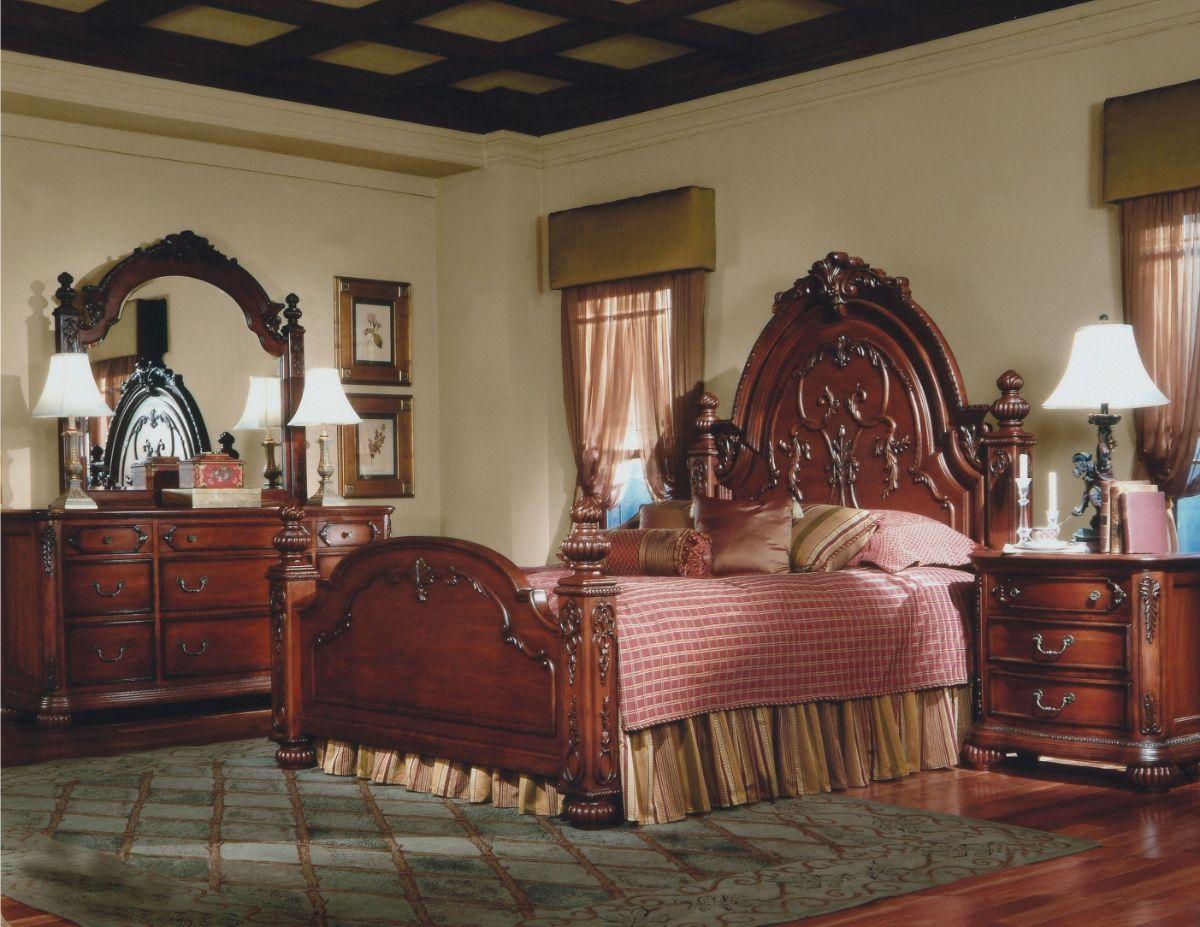 роскошный дизайн интерьера спальни в стиле модерн