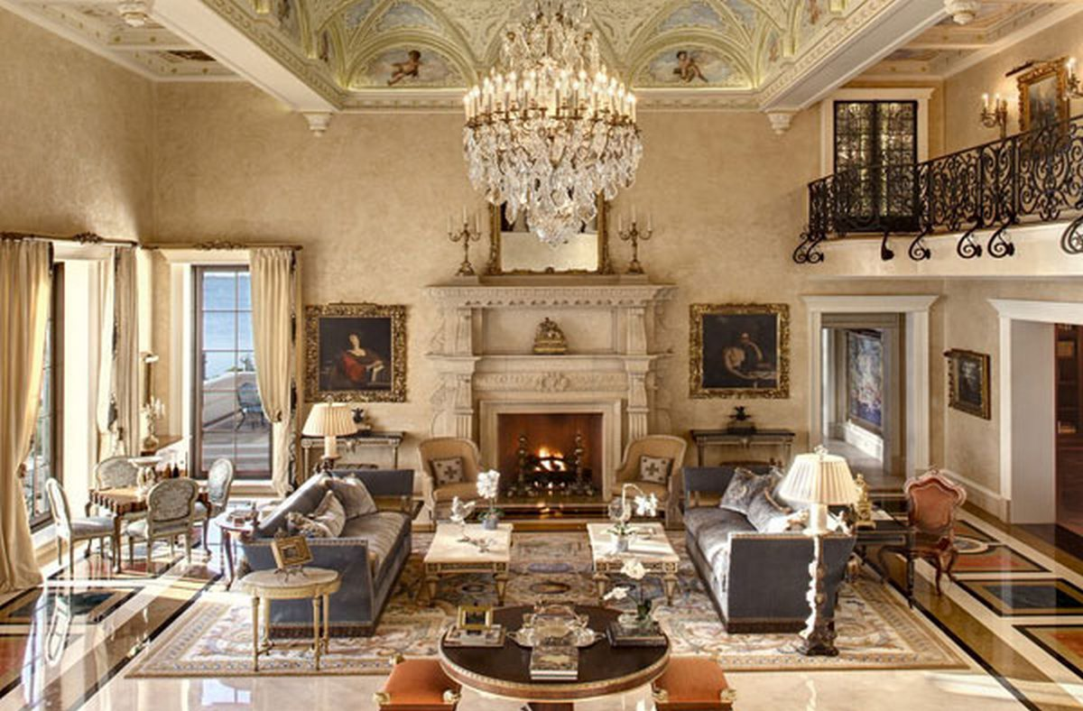 стиль барокко в интерьере квартиры фото