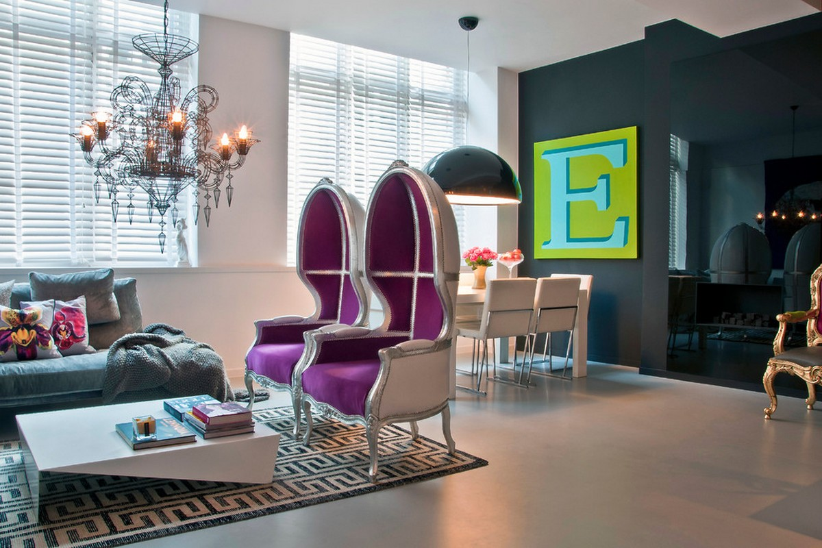 стиль барокко в интерьере квартиры современное