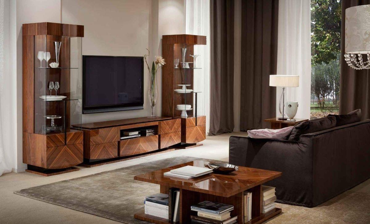 стильный интерьер гостиной в стиле модерн