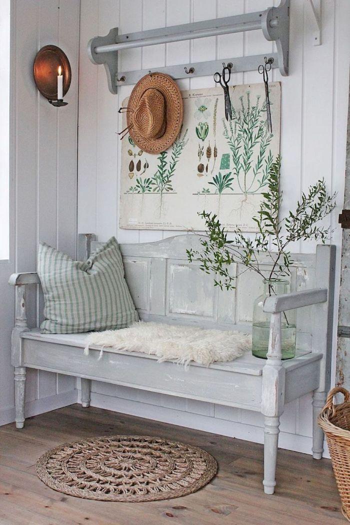 скамейка для спальни в стиле прованс фото которые