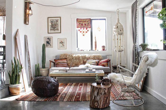 15. сочетание разных стилей в гостиной