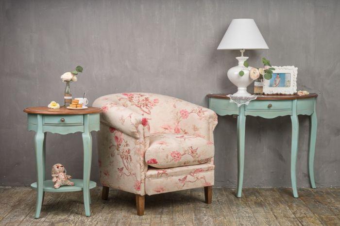 мебель в прихожей в стиле приванс