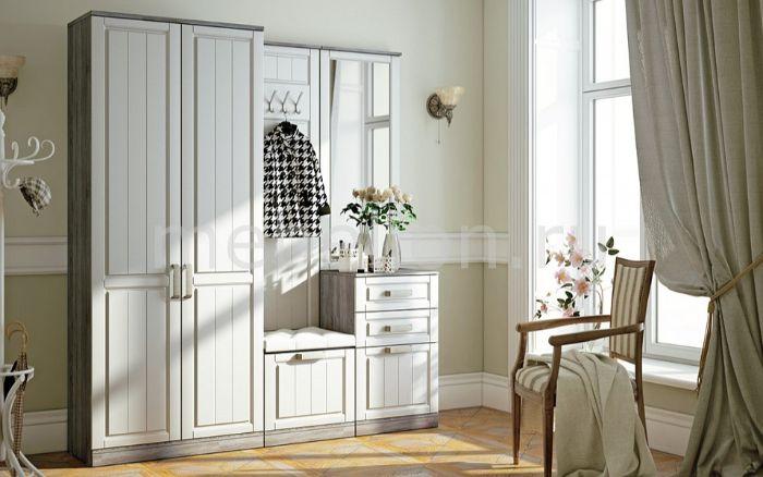 шкаф в прихожую в стиле прованс