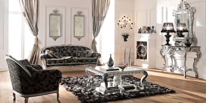 26. скульптурная мебель в гостиной
