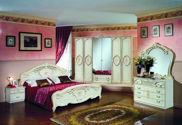 27. скульптурная мебель в спальне