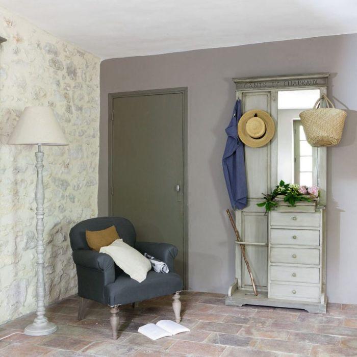 отделка стен в стиле прованс