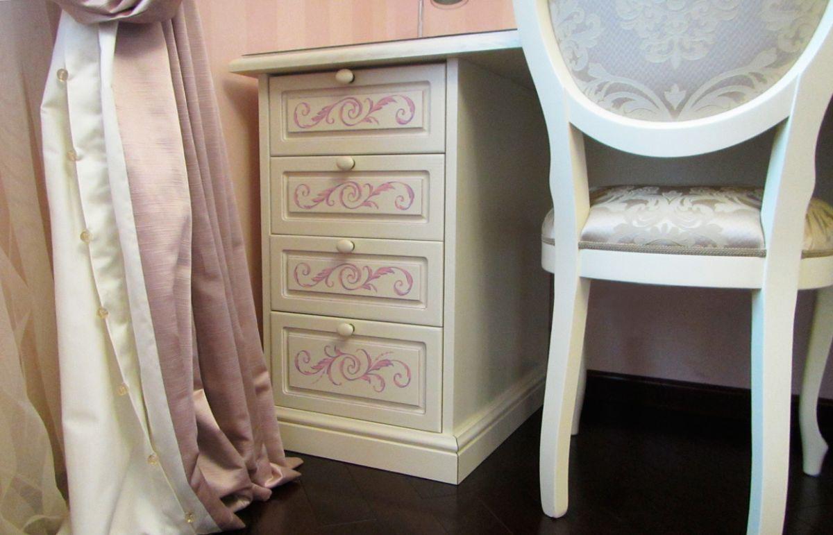 декор письменного стола в стиле прованс своими руками