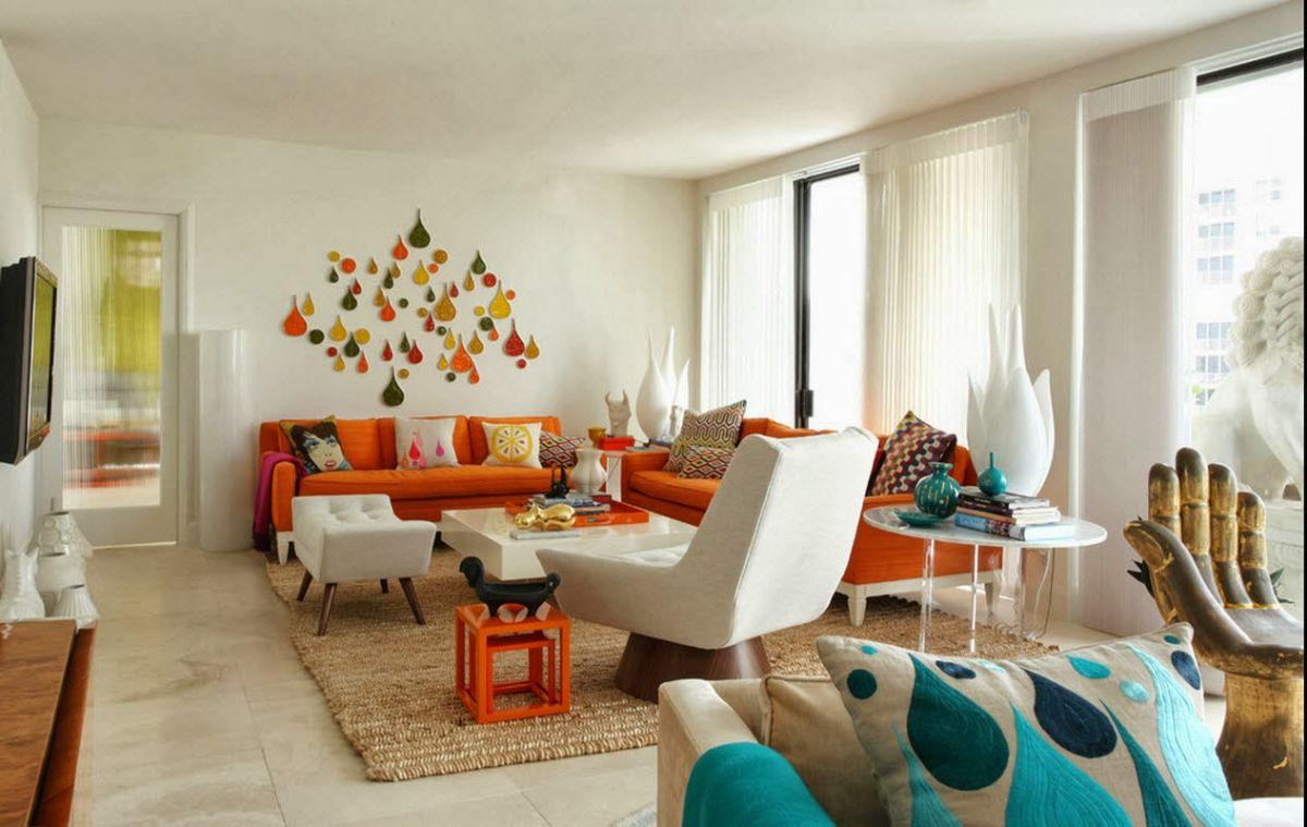 интерьер в ярких цветах дизайн студии