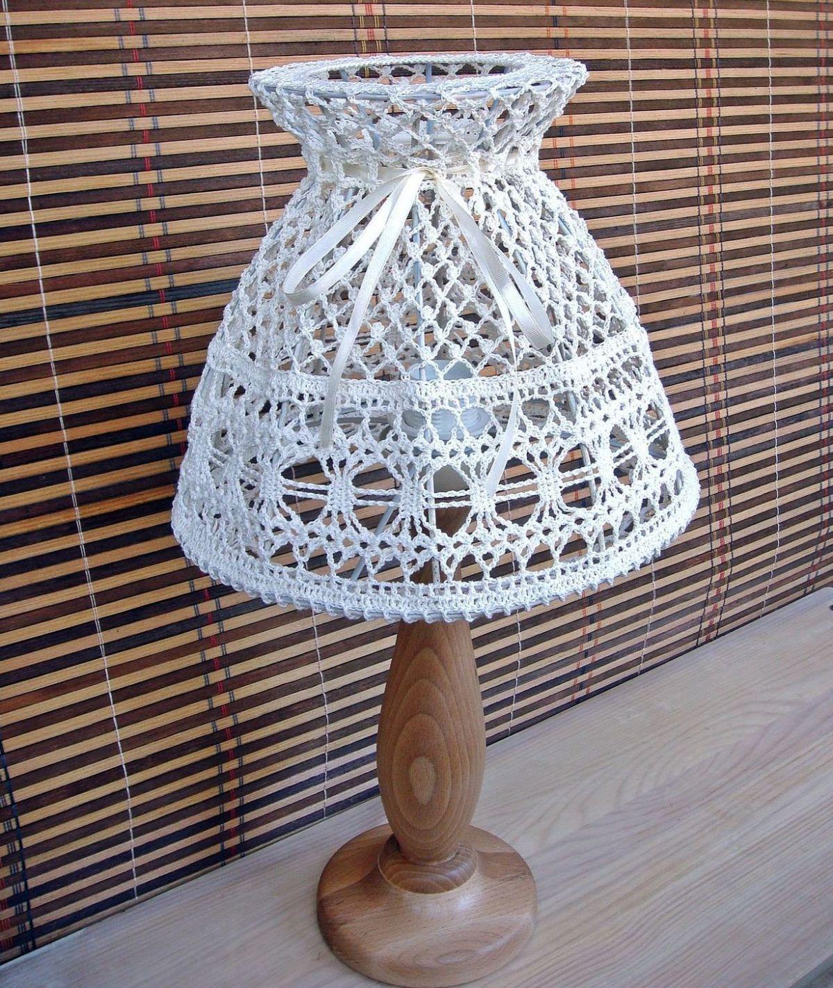 лампа в стиле прованс своими руками