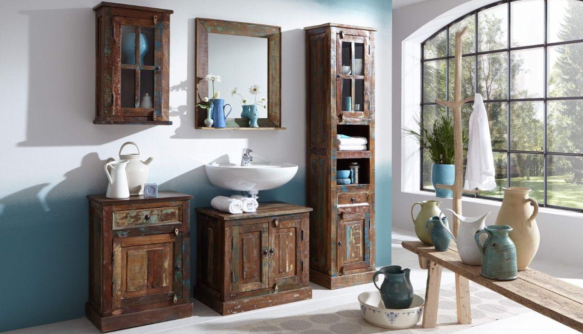 мебель для ванной в стиле прованс своими руками