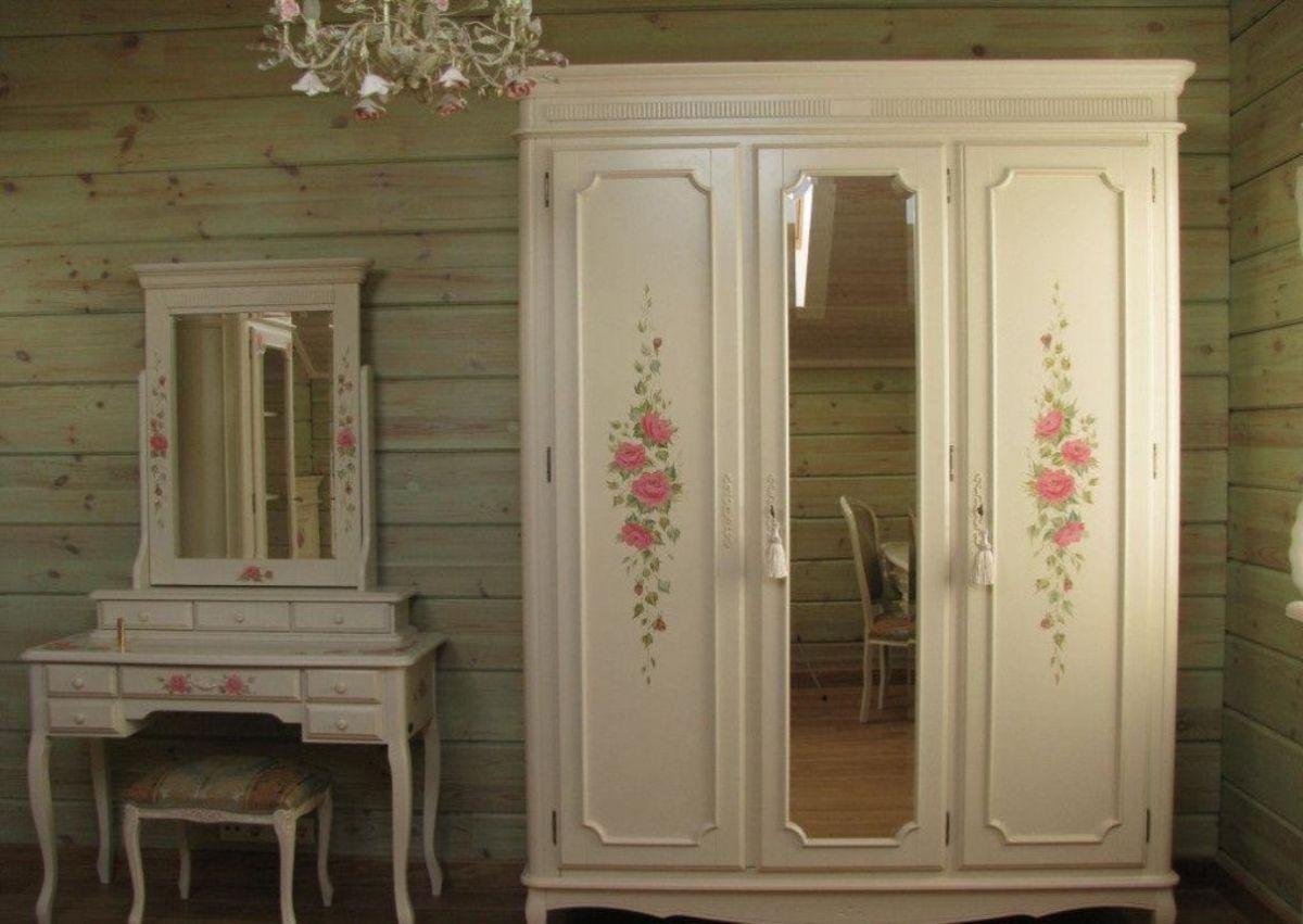 обновление мебели в стиле прованс своими руками