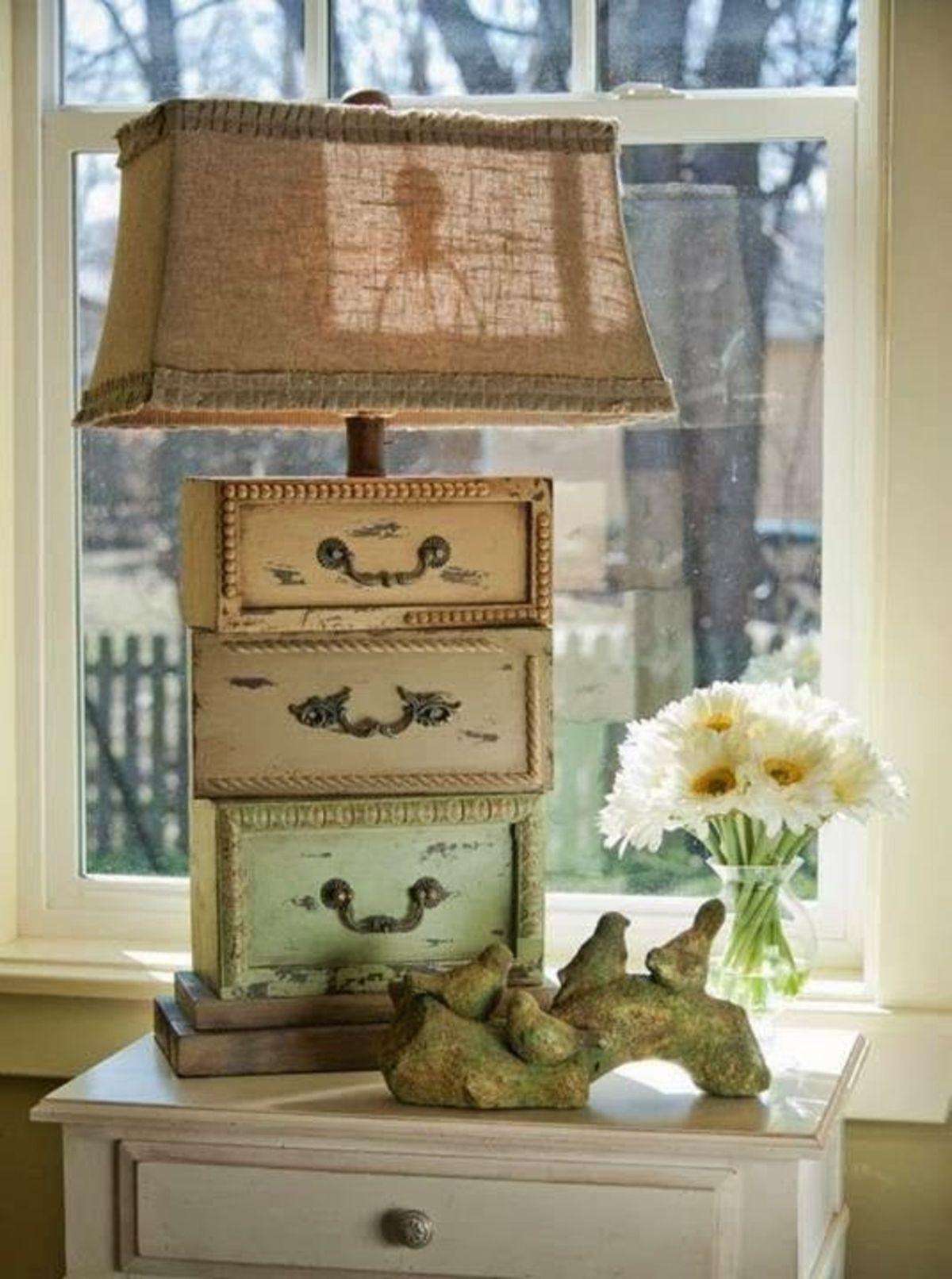 оригинальный светильник в стиле прованс своими руками