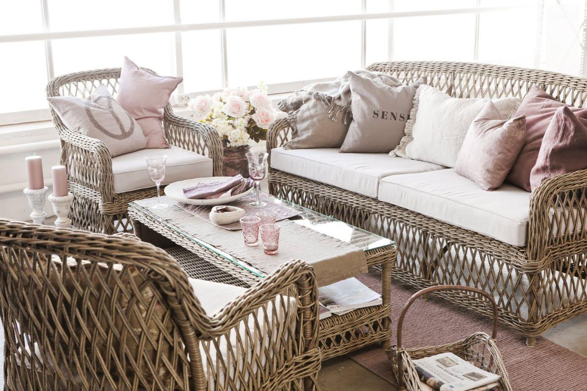 плетёная мебель в стиле прованс своими руками