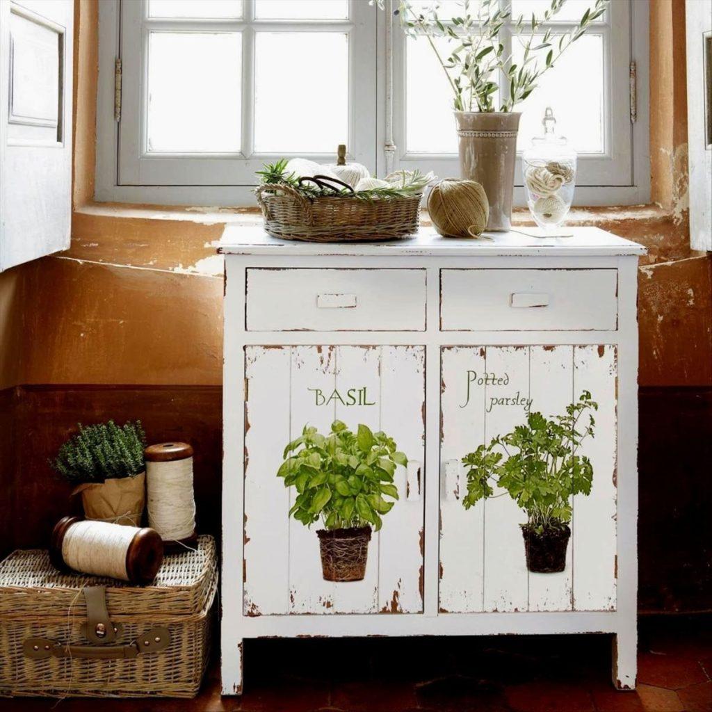 состаренная мебель в стиле прованс своими руками