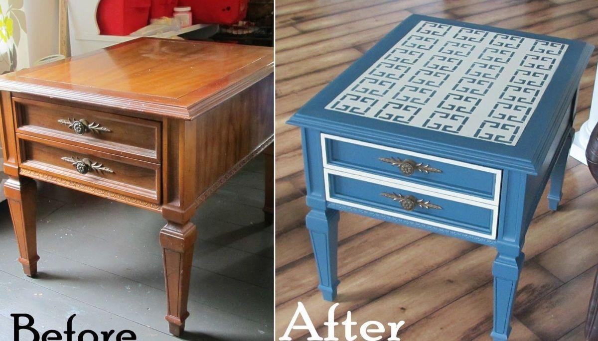 столик с ящиками в стиле прованс своими руками