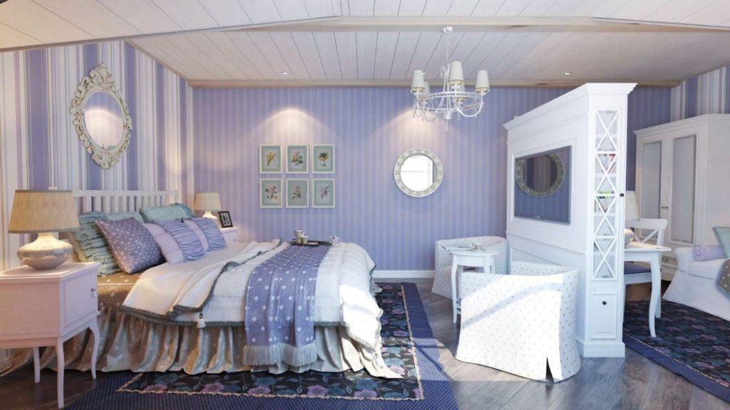 текстиль в спальне в стиле прованс своими руками