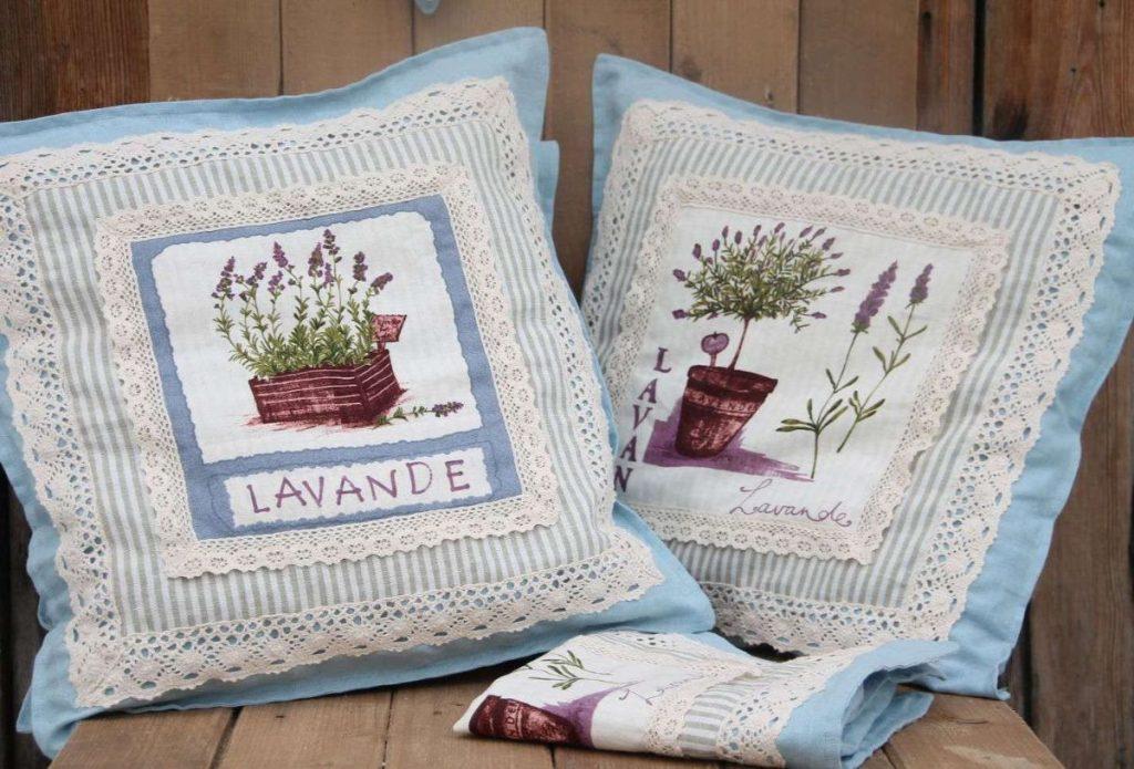 текстиль в стиле прованс своими руками