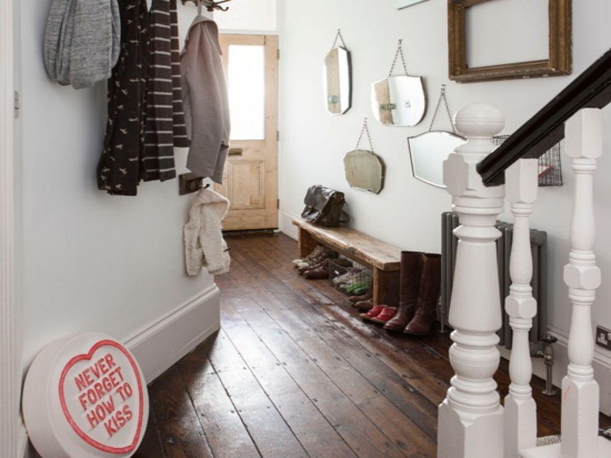 уютный дизайн прихожей в скандинавском стиле дизайн в частном доме