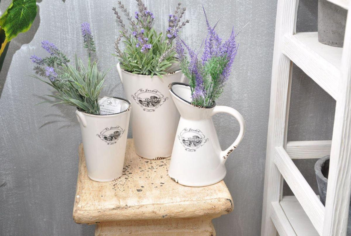 вазы в стиле прованс своими руками