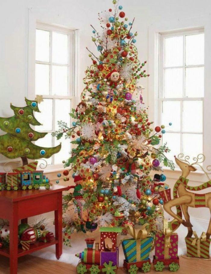 как украсить елку в детской
