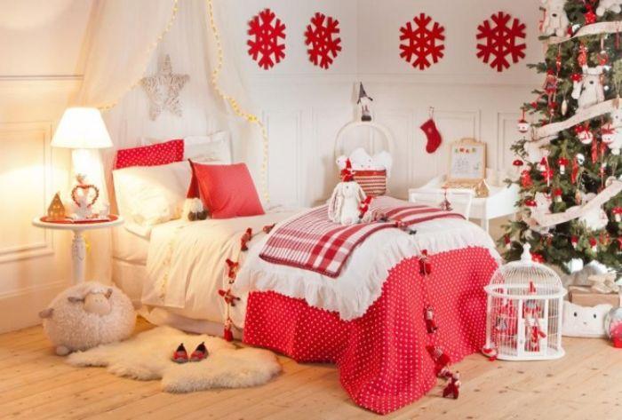 постельное бельё в детскую на новый год