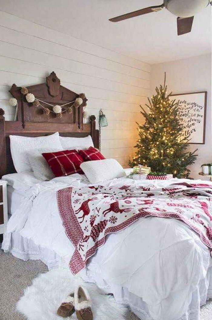 оригинальное постельное бельё на новый год