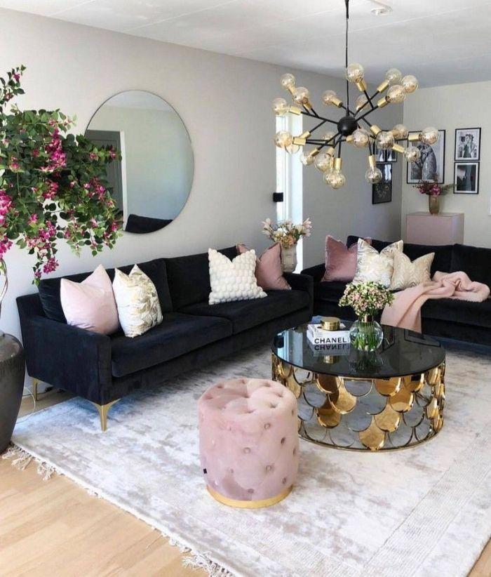 современная мягкая мебель в зал