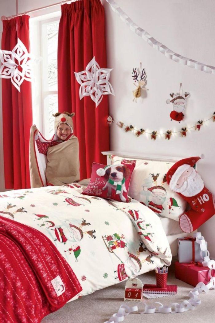 как украсить кровать на новый год