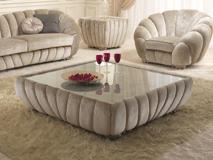 велюровая мебель для зала