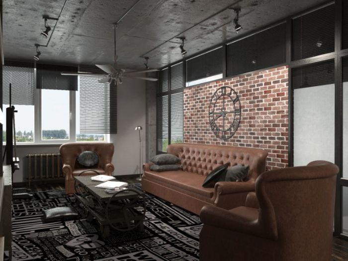 красивая мебель в зал