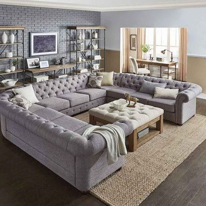 как расставить мягкую мебель в зале