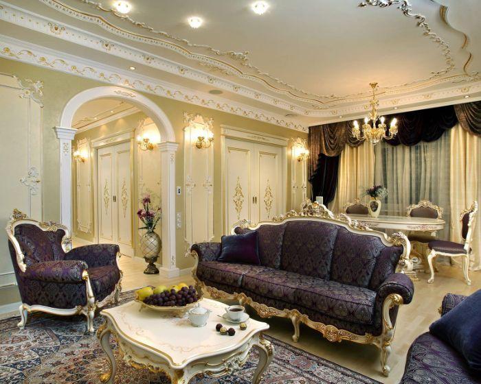 красивая мебель для зала