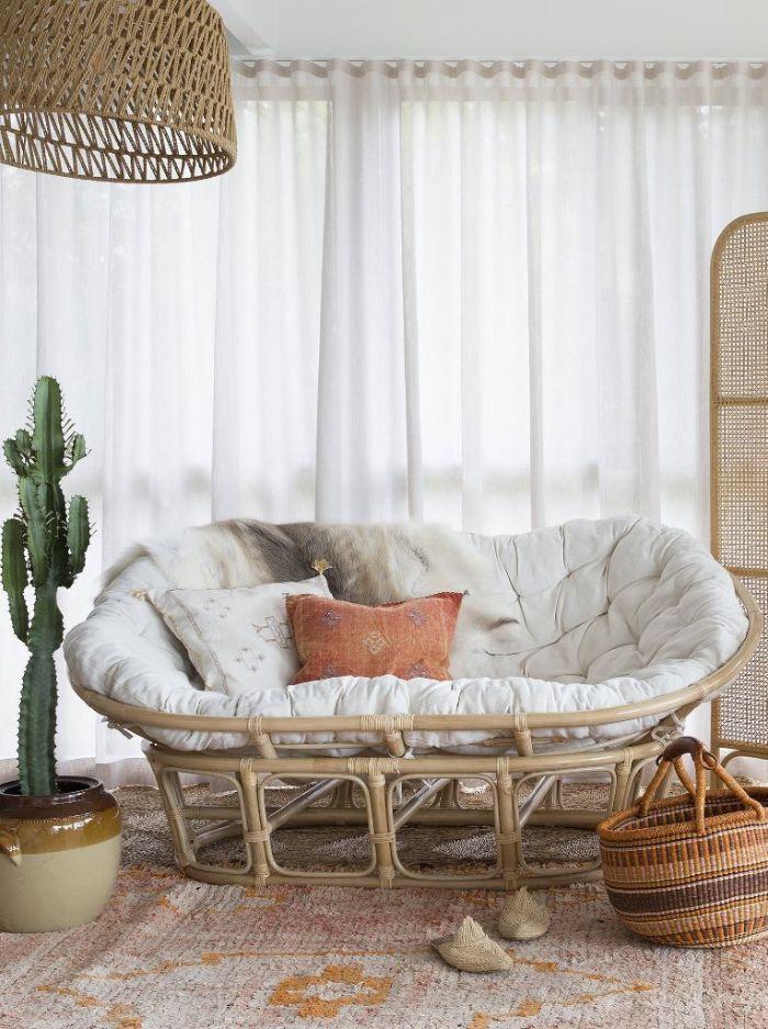 оригинальная мягкая мебель для зала